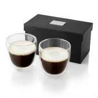 Glass Coffee Cup Set